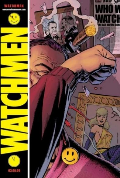 Watchmen, il poster teaser di dave gibbons